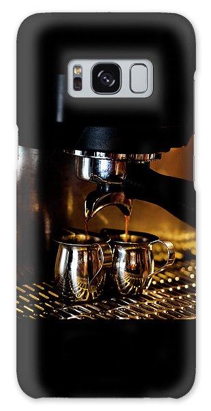 Double Shot Of Espresso 2 Galaxy Case