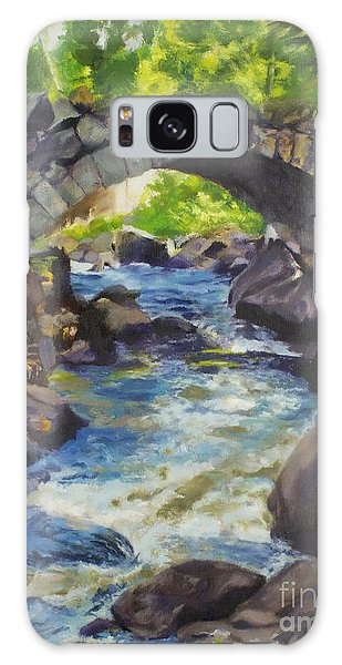 Double Stone Arch Bridge  Galaxy Case