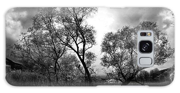 Double Tree Galaxy Case by Yuri Santin