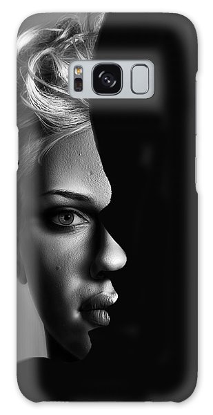 Double Vision Galaxy Case by Digital Art Cafe