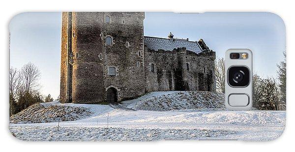 Doune Castle In Central Scotland Galaxy Case