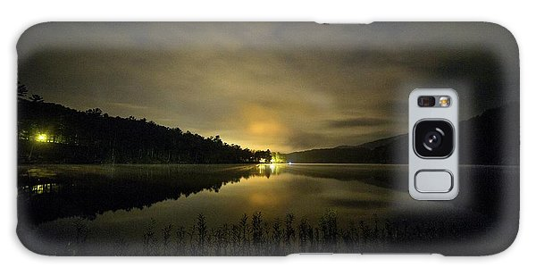 Galaxy Case featuring the photograph Douthat Lake Night by Alan Raasch