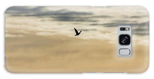 Dove In The Clouds Galaxy Case