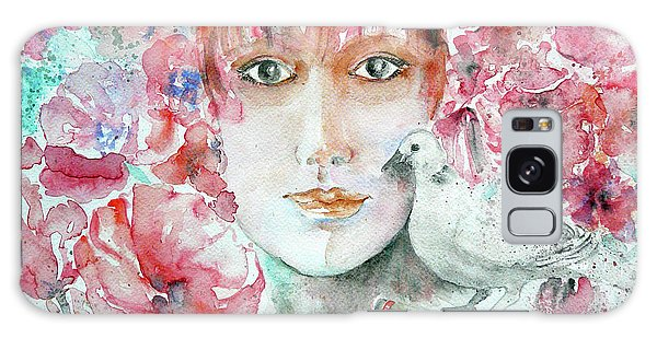 Dove Galaxy Case by Jasna Dragun