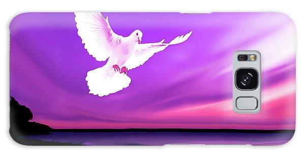 Dove Of My Dreams Galaxy Case by Eddie Eastwood