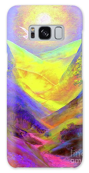 Dove Valley Galaxy Case by Jane Small