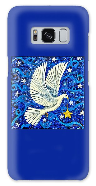 Dove With Star Galaxy Case