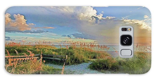 Down To The Beach 2 - Florida Beaches Galaxy Case by HH Photography of Florida