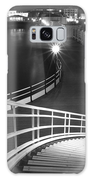 Down To The Pier Galaxy Case by Hazy Apple