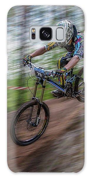 Downhill Race Galaxy Case by Ari Salmela