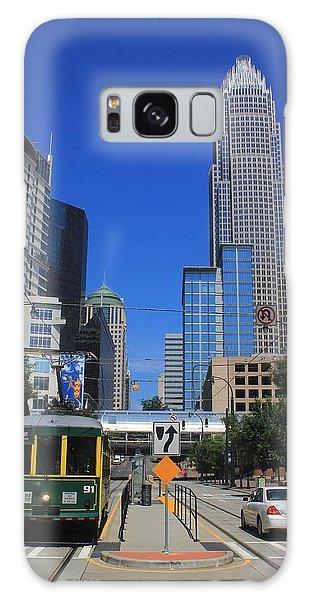 Downtown Charlotte Trolley 1  Galaxy Case
