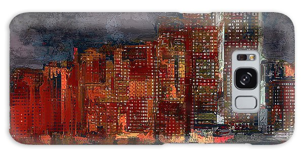 Downtown Galaxy Case by Alex Galkin