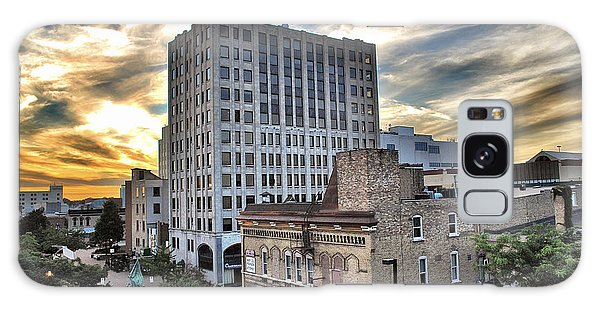 Downtown Appleton Skyline Galaxy Case