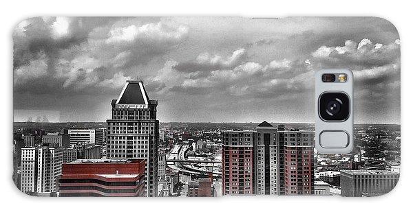 Downtown Baltimore City Galaxy Case