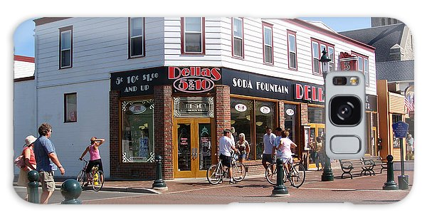 Downtown Cape May New Jersey Galaxy Case by Rod Jellison