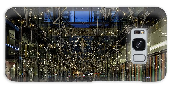 Downtown Christmas Decorations - Washington Galaxy Case