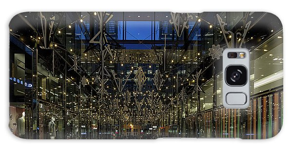 Downtown Christmas Decorations - Washington Galaxy Case