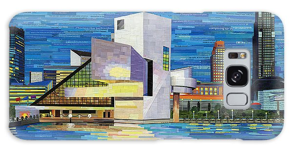 Downtown Cleveland Skyline  Galaxy Case