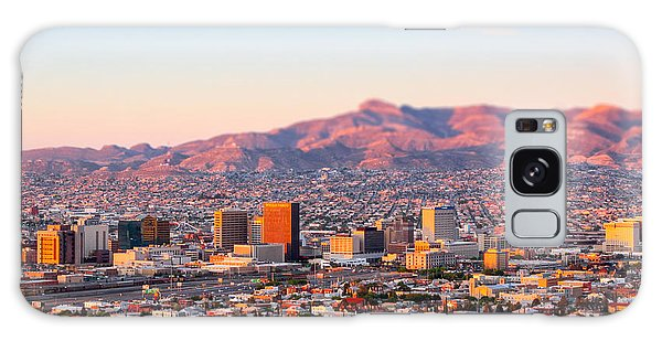 Galaxy Case featuring the photograph Downtown El Paso Sunrise by SR Green