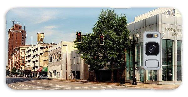 Downtown Huntington West Virginia Galaxy Case by L O C