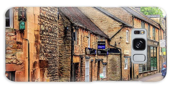 Galaxy Case featuring the photograph Downtown In The Cotswolds by Wallaroo Images