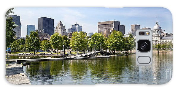 Quebec City Galaxy Case - Downtown Montreal In Summer by Jane Rix