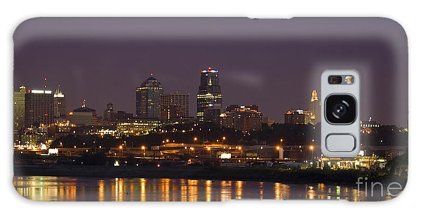 Downtown Reflections Galaxy Case