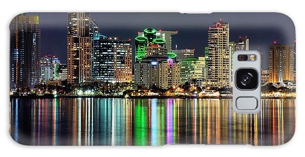 Downtown San Diego Galaxy Case by Eddie Yerkish