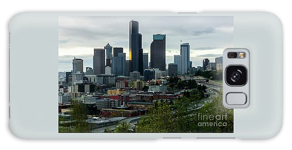 Downtown Seattle,washington Galaxy Case