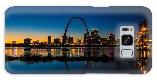 Downtown St. Louis And The Gateway Arch Galaxy Case