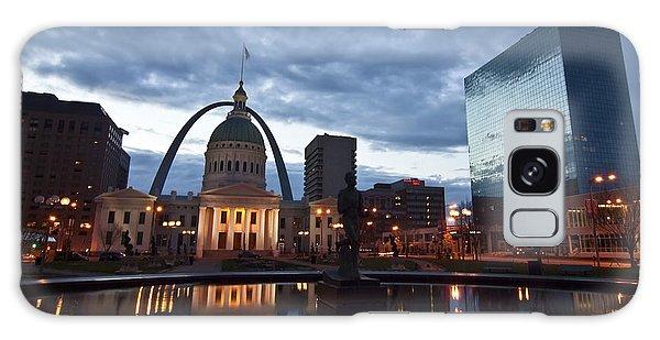 Downtown St. Louis At Dawn Galaxy Case