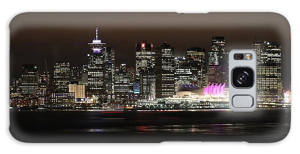 Downtown Vancouver Galaxy Case