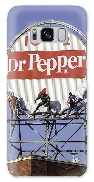 Dr Pepper And The Avengers Galaxy Case