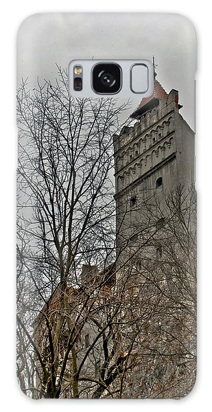 Dracula's Castle Transilvania In Hdr Galaxy Case