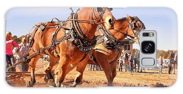 Draft Horse Pulling Cedar City Livestock Festival 2015 Galaxy Case