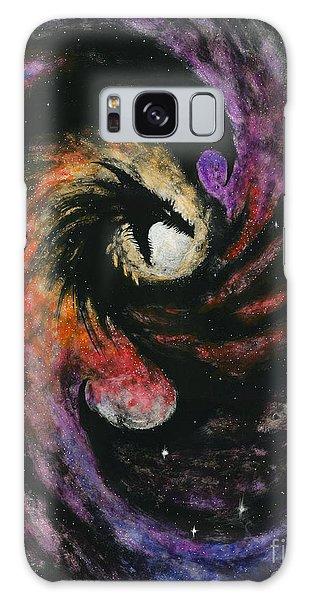 Dragon Galaxy Galaxy Case by Stanley Morrison