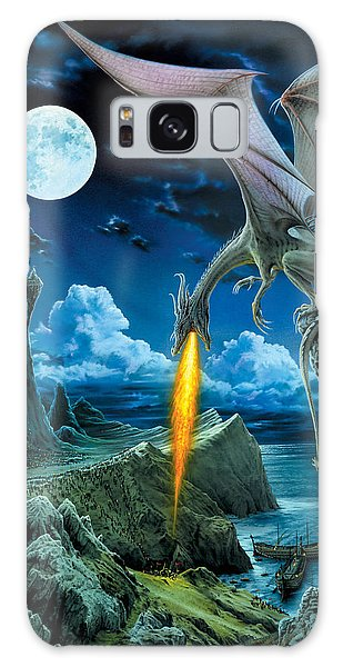 Dragon Galaxy S8 Case - Dragon Spit by The Dragon Chronicles - Robin Ko