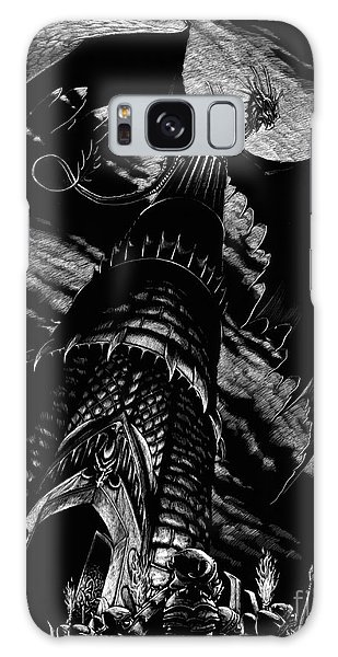 Dragon Tower Galaxy Case