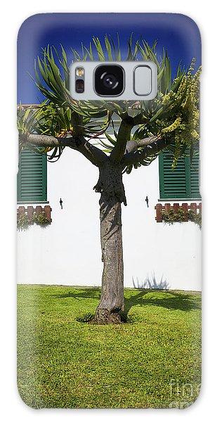 Dragon Tree Garden House Galaxy Case