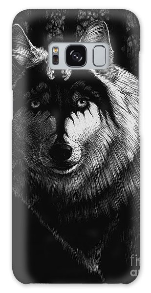 Dragon Wolf Galaxy Case