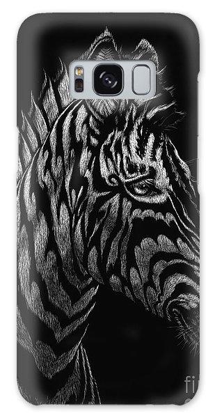 Dragon Zebra Galaxy Case by Stanley Morrison