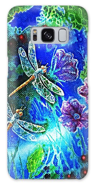 Dragonflies Galaxy Case