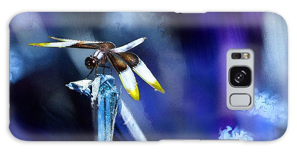 Dragonfly In The Blue Galaxy Case