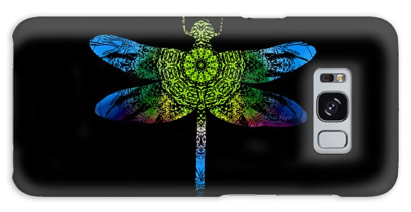 Dragonfly Kaleidoscope Galaxy Case