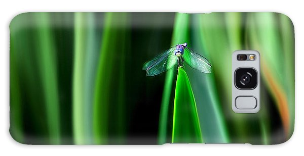 Dragonfly Meditation Galaxy Case