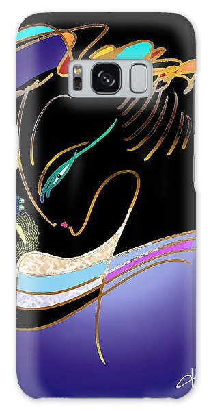 Dragonfly Messenger Galaxy Case