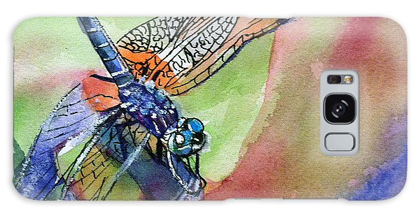 Dragonfly Of Many Colors Galaxy Case