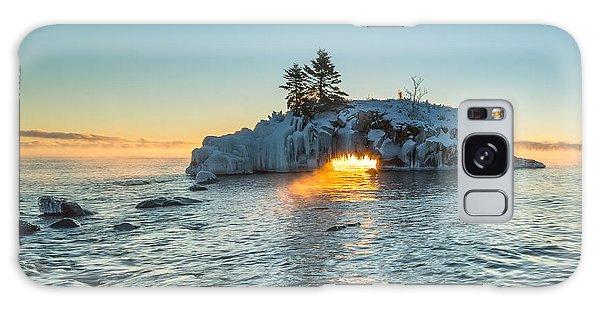Dragon's Breath  // North Shore, Lake Superior Galaxy Case