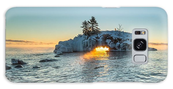 Dragon's Breath  // North Shore, Lake Superior Galaxy Case
