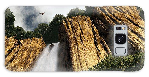 Dragons Den Canyon Galaxy Case by Richard Rizzo